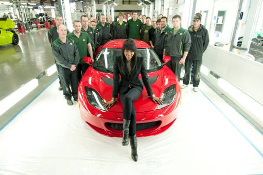 The Joint Effort Made By British Carmaker Lotus And Former Supermodel Naomi Campbell To Eight Special Edition For Haiti Evora Sports Cars