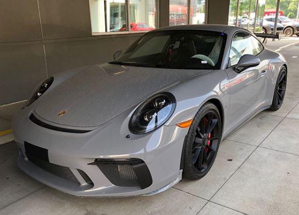 Nardo Grey 2018 Porsche 911 GT3 Is Not Your Average Audi