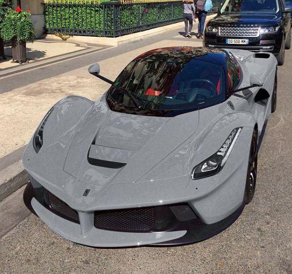Nardo Grey Ferrari LaFerrari Rendered As The Ultimate