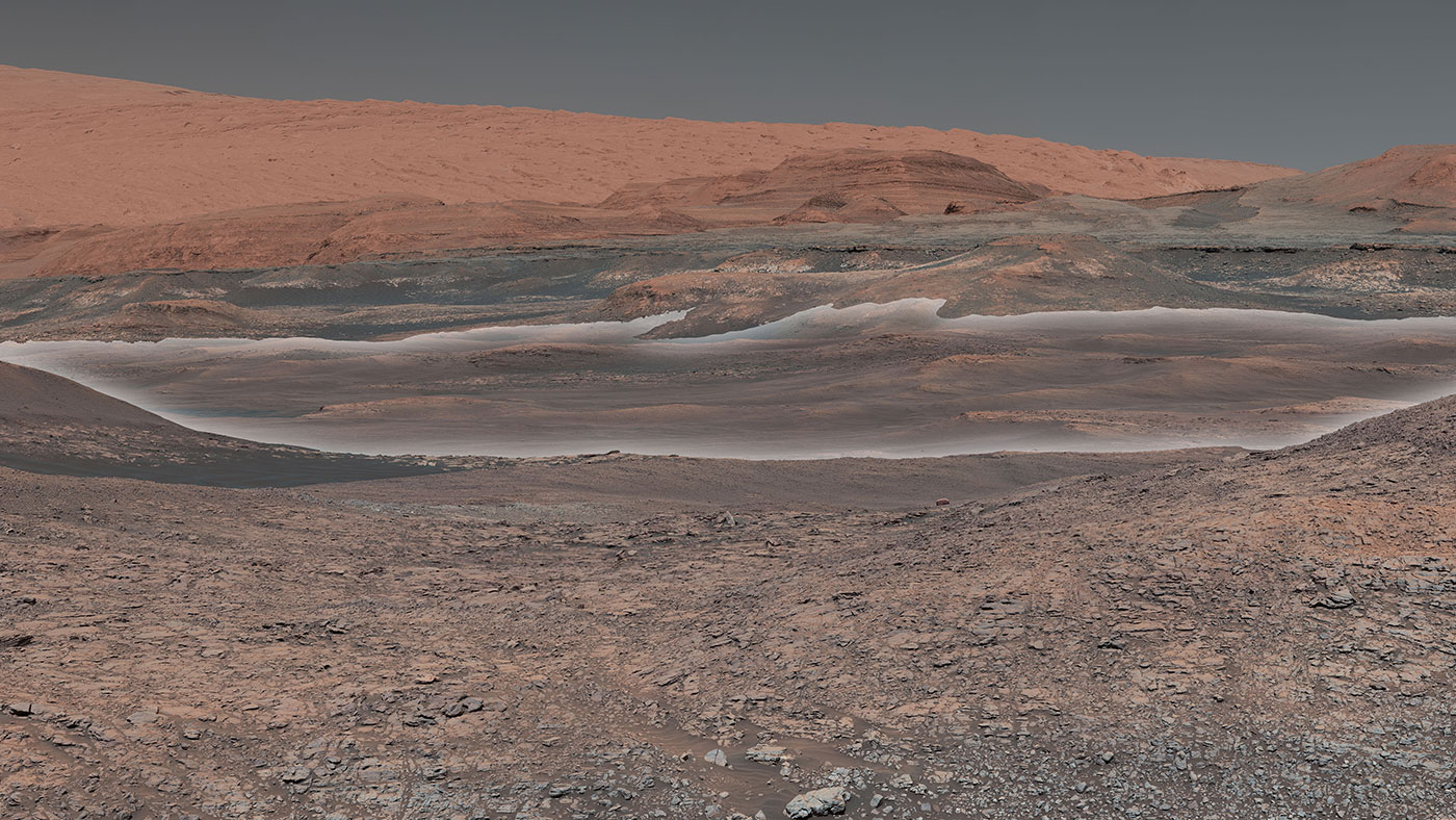 Nasa's Mars rover Curiosity marks '2000 days' on red planet