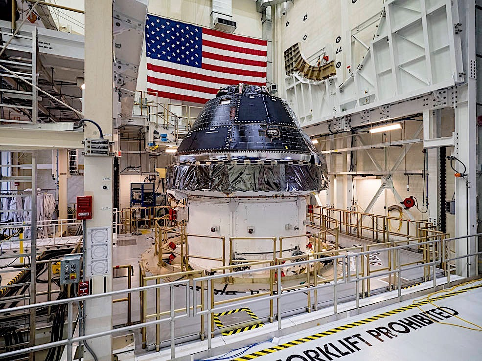 NASA Commits to Using Orion Capsule for up to 12 Artemis Missions