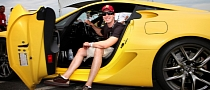 NASCAR Driver Lyle Busch Loses License for Speeding in Lexus LFA