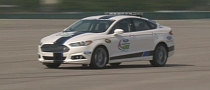 NASCAR Drivers Take 2013 Ford Fusion for a Spin [Video]