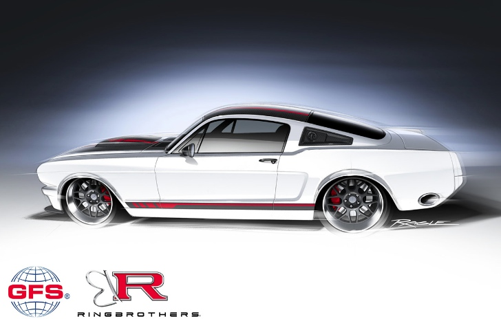 NASCAR-powered 1965 Ford Mustang by Ring Brothers Coming at SEMA