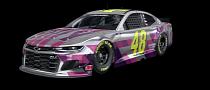 NASCAR Superstar Jimmie Johnson Gets New Chrome Paintjob for His Chevy Camaro