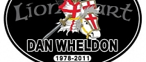 NASCAR to Honor Dan Wheldon Using B-Pillar Decal at Talladega