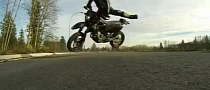 Nasty High-Side Crash for Stunt Rider Wannabe [Video]
