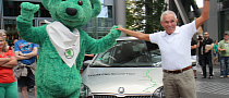 Natural Gas Powered Skoda Citigo Crossing 9 Countries on €100