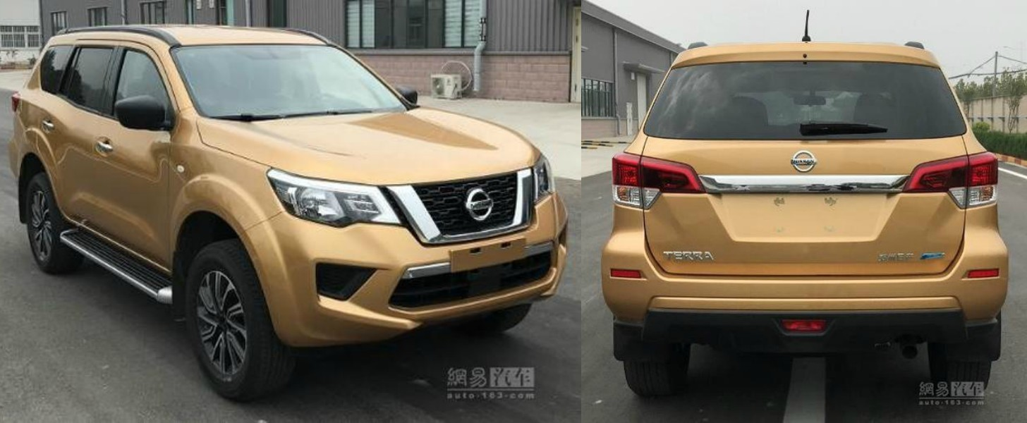 Navara-based 2018 Nissan Terra Says Cheese To The Camera ...