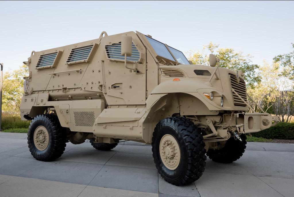 Navistar Defense Gets $183M Order for MRAP Dash Ambulances ...