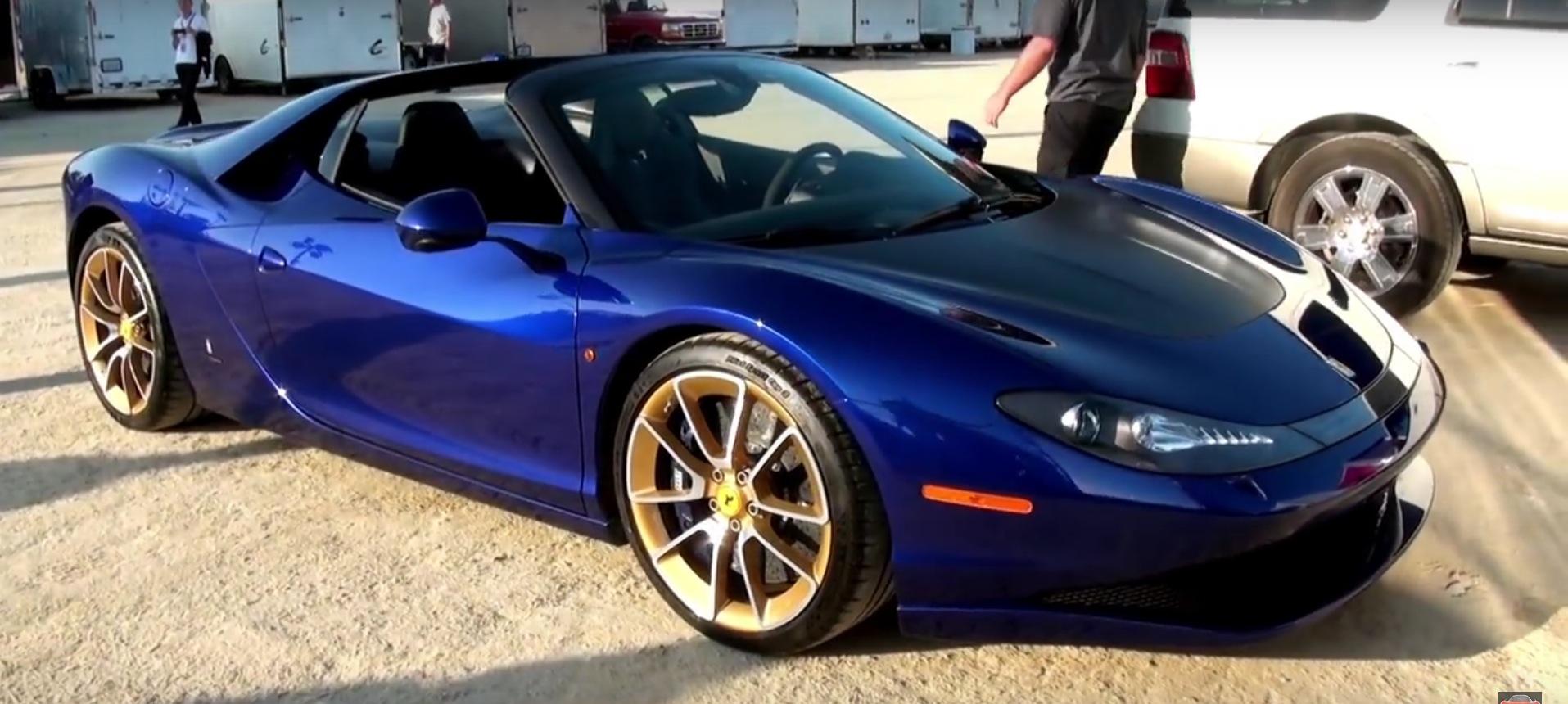 Navy Blue Ferrari Pininfarina Sergio Looks Extremely Rare Autoevolution