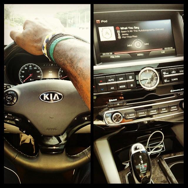 NBA Star LeBron James Drives The New Kia K900: A Gift