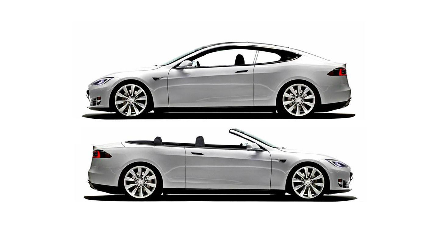 Nce To Build Tesla Model S Two Door Coupe And Convertible Conversions