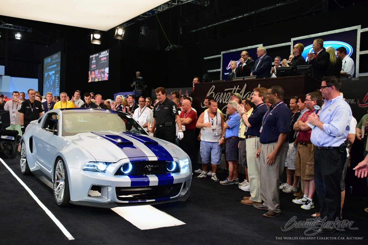 Need For Speed Ford Mustang Raises 300 000 For Charity