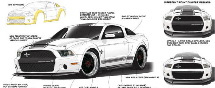 Gt500 Mustang 2015 >> Need For Speed Shelby GT500 is the Last Car Built With Carroll Shelby - autoevolution
