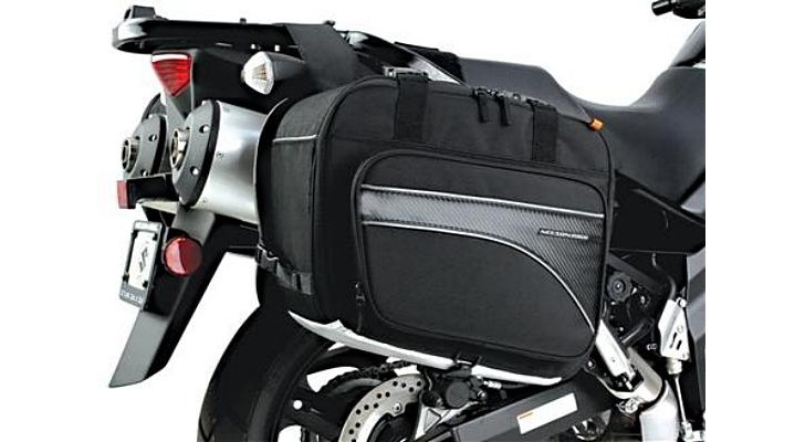 Nelson-Rigg Adds Carbon Fiber Decorations to New Bike Bags Line [Photo Gallery]
