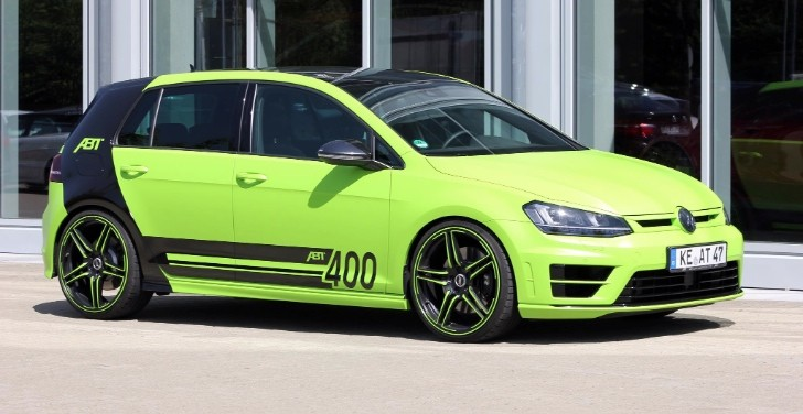 Mk7 Golf R >> Neon Green Golf R with 400 HP from ABT Coming to Worthersee 2015 - autoevolution