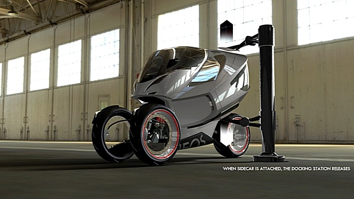 Neos, a Crazy yet Amazing Trike Concept by Daniel Munnink [Photo Gallery]