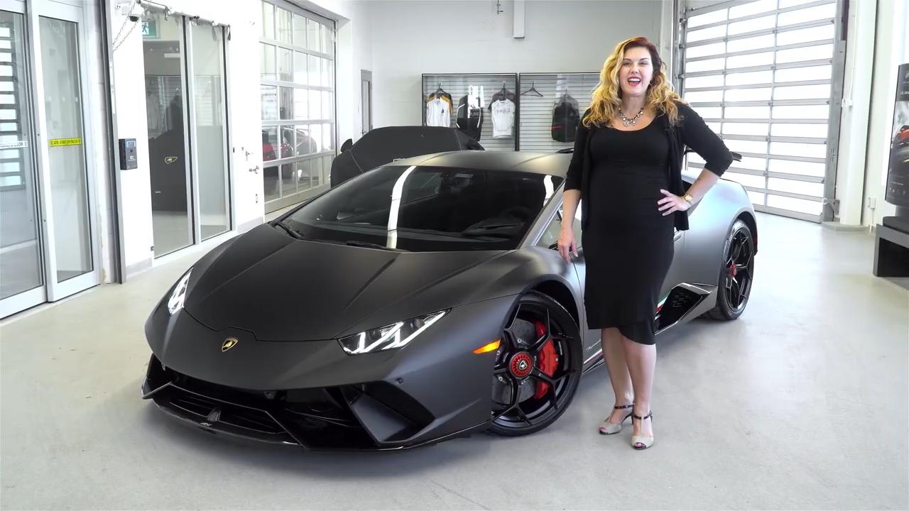 Nero Nemesis Matte Black Lamborghini Huracan Performante Looks