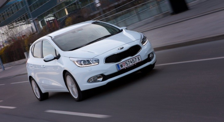 New 2012 Kia Cee'd Photos Released