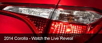 New 2014 Toyota Corolla Teased in Red – Photos from Toyota Canada