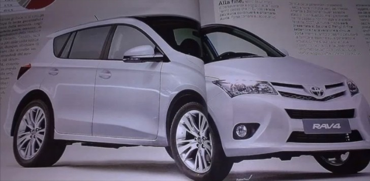 New 2014 Toyota RAV4 to Use Camry-like Design and 6-Speed Automatic