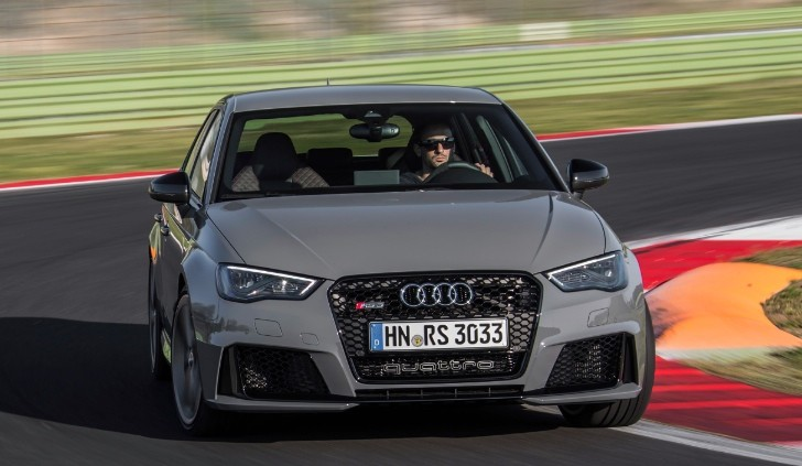 new 2015 audi rs3 photos show nardo grey catalunya red and sepang blue colors autoevolution. Black Bedroom Furniture Sets. Home Design Ideas