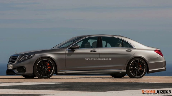 New 2015 mercedes benz s63 amg rendering released for Mercedes benz s550 oil change