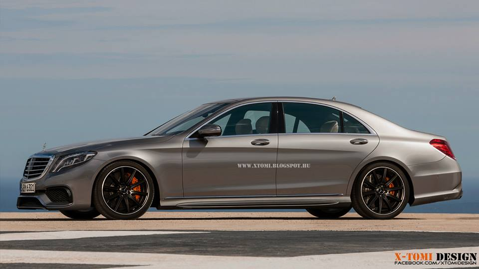new 2015 mercedes benz s63 amg rendering released