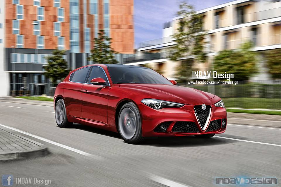 New 2019 Alfa Romeo Giulietta Rendered As Rwd Delight With A Pretty
