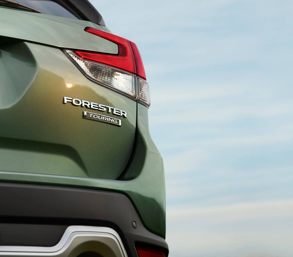 2019 subaru forester teased once more ahead of facebook live