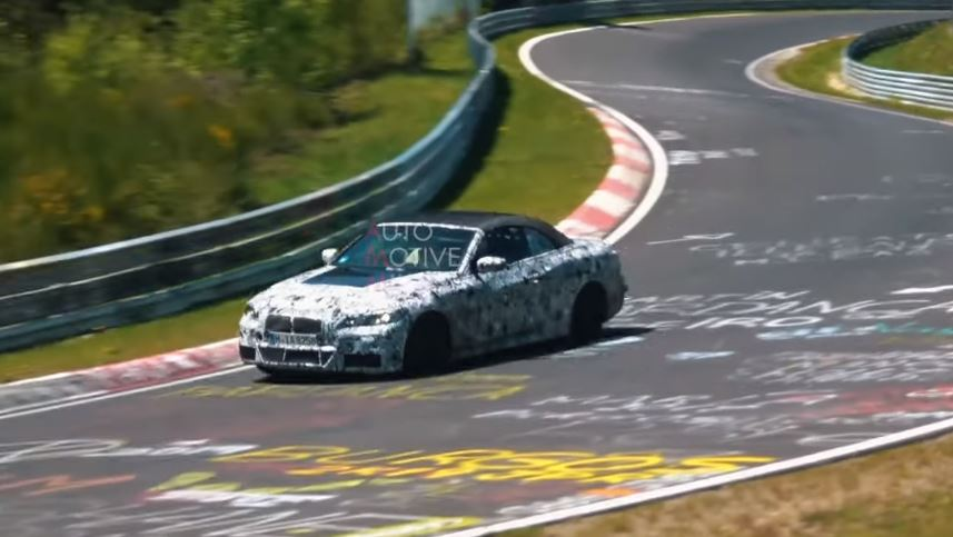 Top New Shows 2020 New 2020 BMW 4 Series Convertible Spotted on Nurburgring, Shows