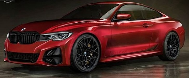 New 2021 Bmw 4 Series Rendered Looks Like A Baby 8 Series Autoevolution