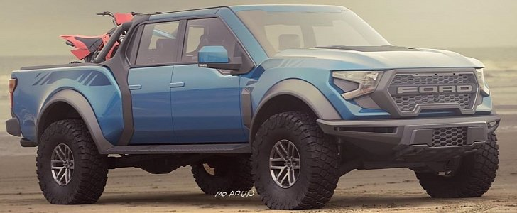 New 2021 Ford F-150 Raptor Rendered, Supercharged V8 Rumors Going Strong - autoevolution