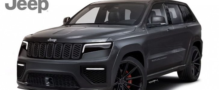new 2021 jeep grand cherokee rendered looks like a budget