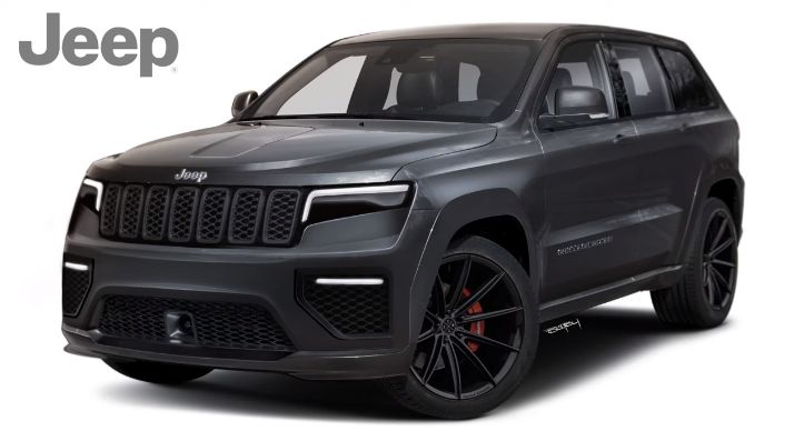 New 2021 Jeep Grand Cherokee Rendered Looks Like A Budget Rolls Royce Cullinan Autoevolution