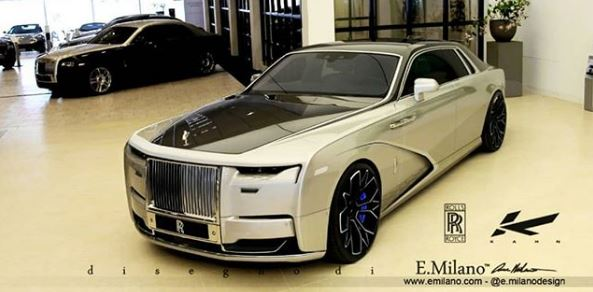 New 2021 Rolls-Royce Ghost Rendered with Tuner Look, Kahn ...