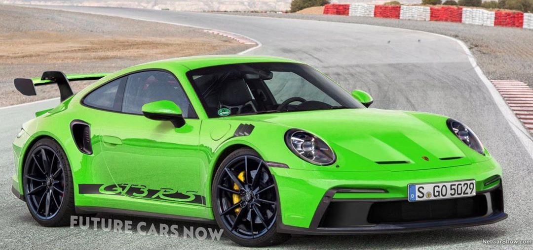 New 992 Porsche 911 Gt3 Rs Rendered Looks Spot On Autoevolution