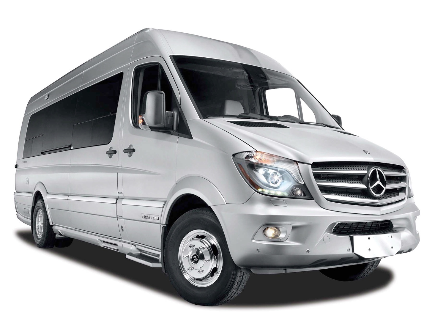 New airstream autobahn is a mercedes benz sprinter luxury for Mercedes benz luxury rv