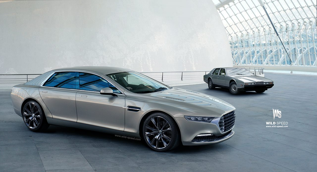 new aston martin lagonda on the way - autoevolution