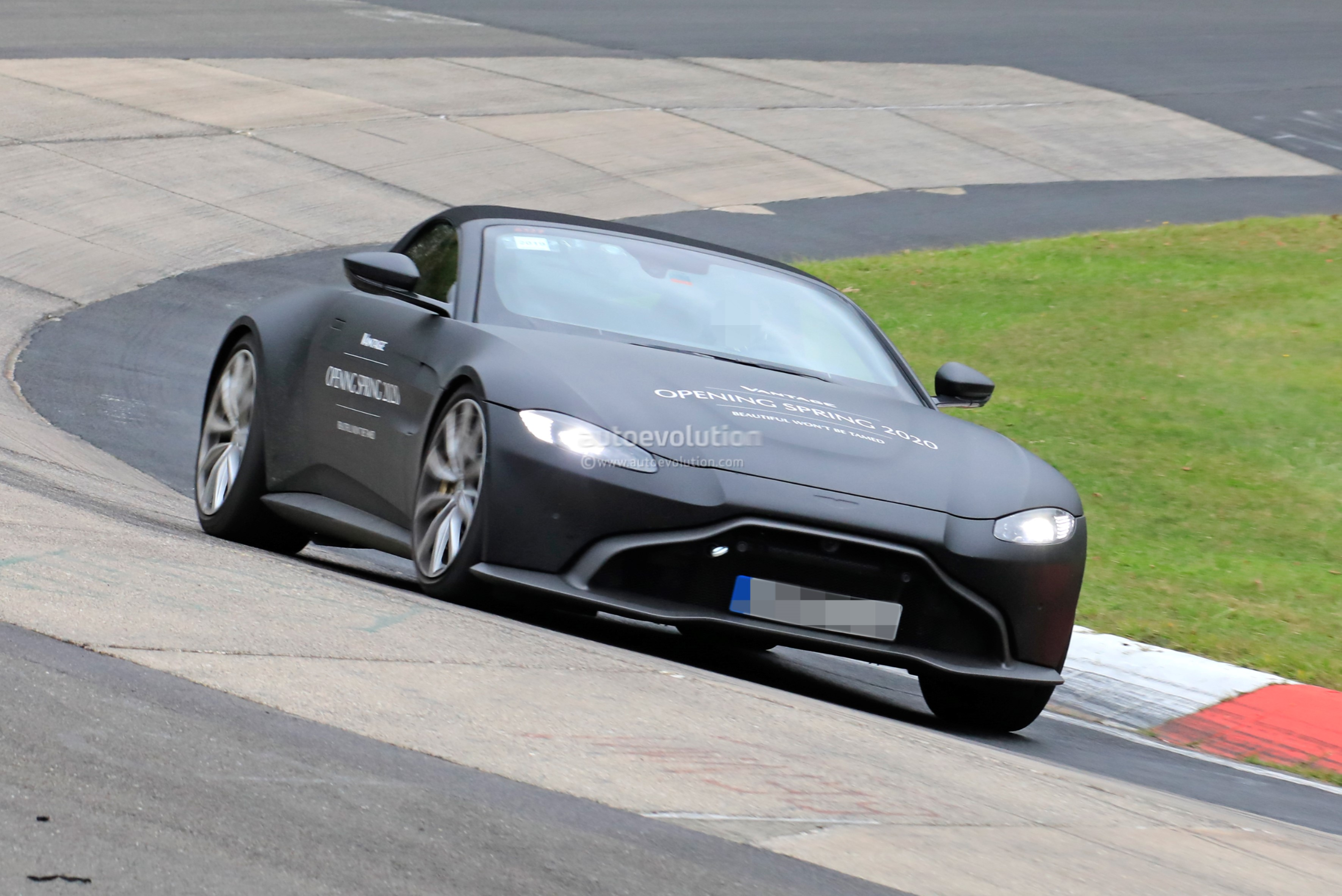 New Aston Martin >> New Aston Martin Spied Testing At The Nurburgring It S The
