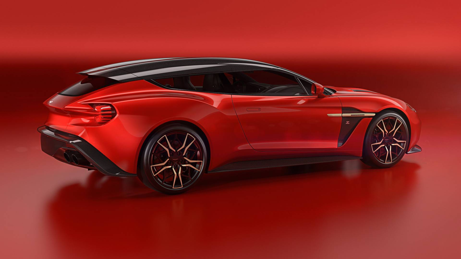 New Aston Martin Vanquish Zagato Shooting Brake Is a Feast For The