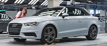 New Audi A3 Cabriolet Production Starts in Hungary