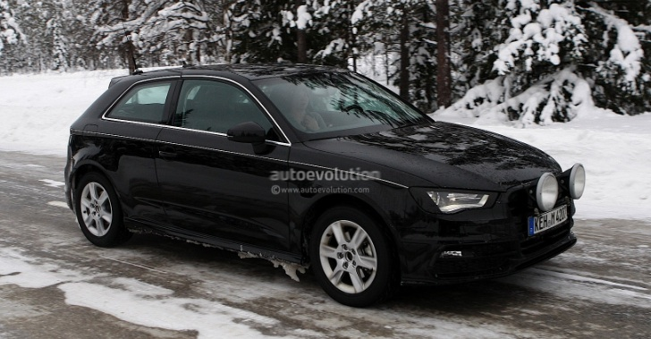 New Audi A3 Completely Revealed in Spy Photos