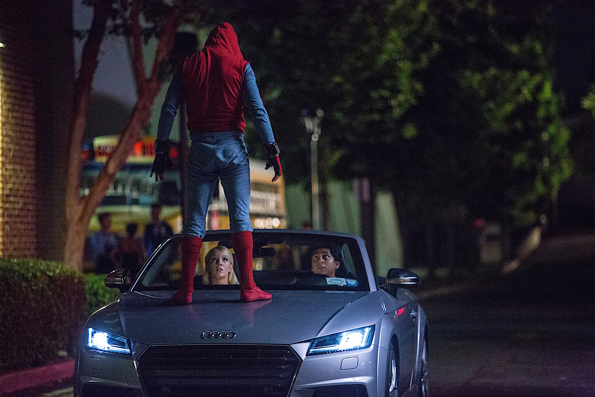 Audi A To Debut In SpiderMan Homecoming Will Reach Theaters - Parker audi