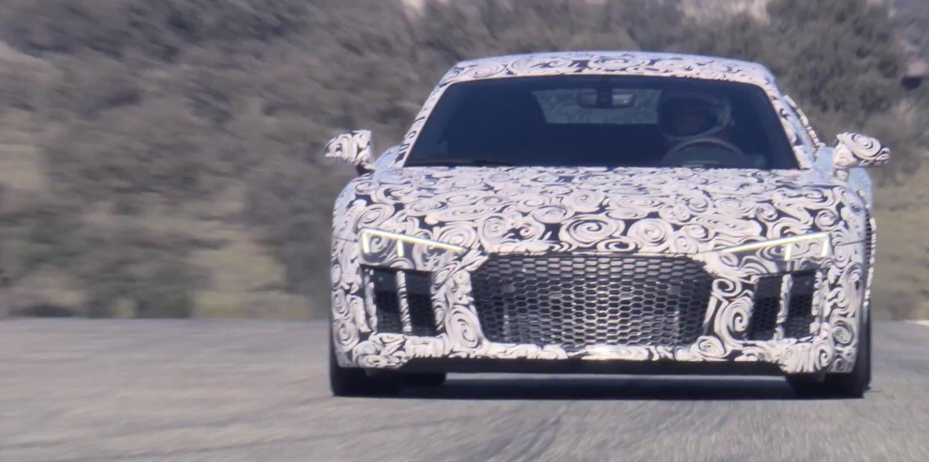 New Audi R8 V10 Plus Sounds Like a Lamborghini, Makes 610 HP ...