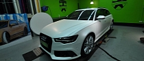 New Audi RS6 by ABT Wrapped in Diamond White [Photo Gallery]