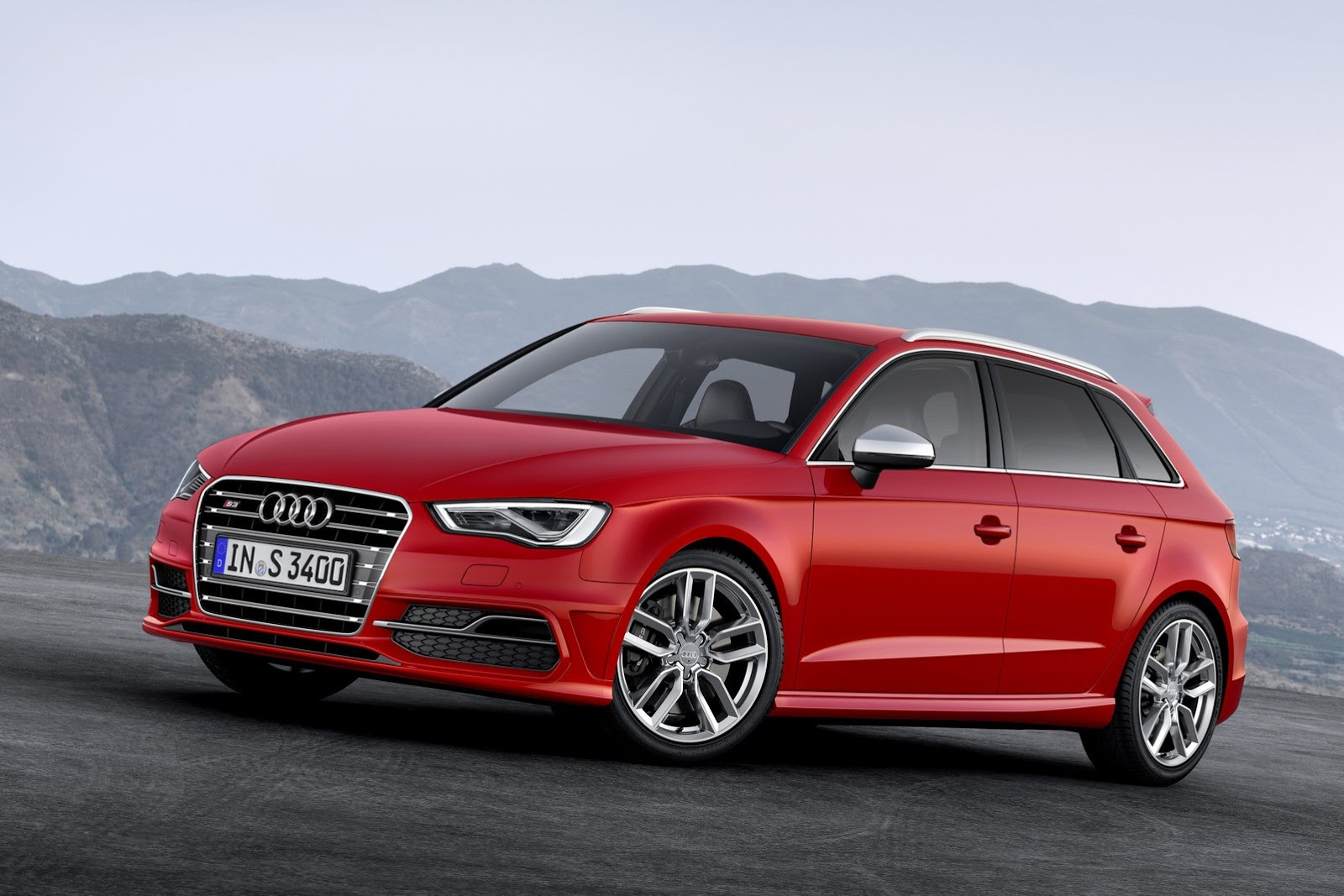 New Audi S3 Five Door Sportback Has 300 Hp Autoevolution