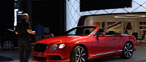 New Bentley Continental GTC V8 S Arrives in Frankfurt Ahead of IAA Start [Video]