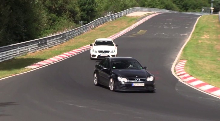 New Black Series vs Old Black Series AMG on the Green Hell [Video]